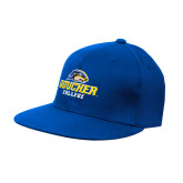 Royal OttoFlex Flat Bill Pro Style Hat-Goucher College Stacked