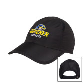Black Performance Cap-Goucher Gophers Stacked