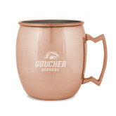 Copper Mug 16oz-Goucher Gophers Stacked Engraved