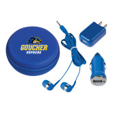 3 in 1 Royal Audio Travel Kit-Goucher Gophers Stacked