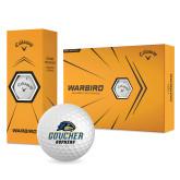 Callaway Warbird Golf Balls 12/pkg-Goucher Gophers Stacked