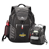 High Sierra Big Wig Black Compu Backpack-Goucher Gophers Stacked