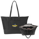 Stella Black Computer Tote-Goucher Gophers Stacked