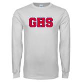 White Long Sleeve T Shirt-GPV