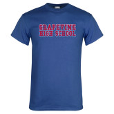 Royal T Shirt-Grapevine High School Distressed