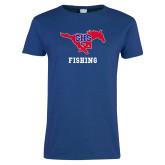 Ladies Royal T Shirt-Fishing