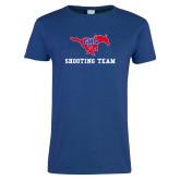 Ladies Royal T Shirt-Shooting Team
