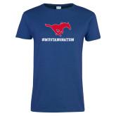 Ladies Royal T Shirt-MUSTANGNATION