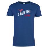 Ladies Royal T Shirt-Alumni Design
