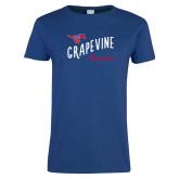 Ladies Royal T Shirt-Grandma Design