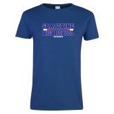 Ladies Royal T Shirt-Tri Color Design