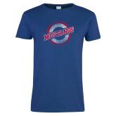 Ladies Royal T Shirt-Distressed Wordmark
