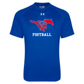 Under Armour Royal Tech Tee-Football