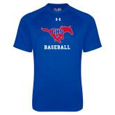 Under Armour Royal Tech Tee-Baseball