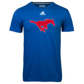Adidas Climalite Royal Ultimate Performance Tee-Secondary Mark