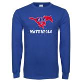 Royal Long Sleeve T Shirt-Waterpolo