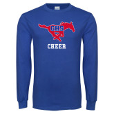 Royal Long Sleeve T Shirt-Cheer
