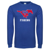 Royal Long Sleeve T Shirt-Fishing