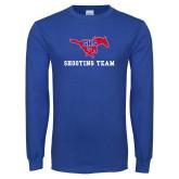 Royal Long Sleeve T Shirt-Shooting Team