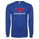 Royal Long Sleeve T Shirt-RUNNINMUSTANG