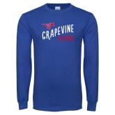 Royal Long Sleeve T Shirt-Alumni Design