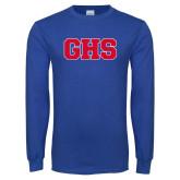 Royal Long Sleeve T Shirt-GPV