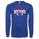 Royal Long Sleeve T Shirt-Football Design 3