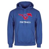 Royal Fleece Hoodie-Football