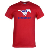 Red T Shirt-Leadership