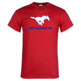 Red T Shirt-MUSTANGNATION