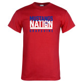 Red T Shirt-Mustangs Nation