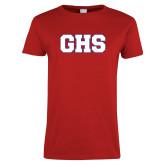 Ladies Red T Shirt-GPV