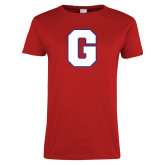 Ladies Red T Shirt-G
