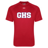 Under Armour Red Tech Tee-GPV