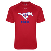 Under Armour Red Tech Tee-Soccer