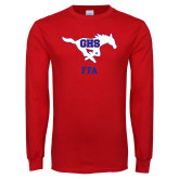 Red Long Sleeve T Shirt-FFA