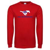 Red Long Sleeve T Shirt-Oral Interpretation