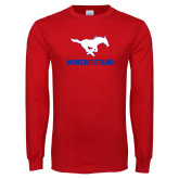 Red Long Sleeve T Shirt-ONEMUSTANG