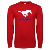 Red Long Sleeve T Shirt-TEAM99