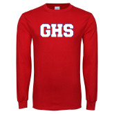Red Long Sleeve T Shirt-GPV
