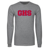 Grey Long Sleeve T Shirt-GPV