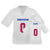 Youth Replica White Football Jersey-Personalized
