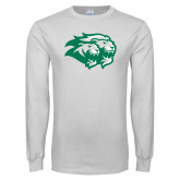 White Long Sleeve T Shirt-Lions