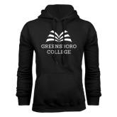 Black Fleece Hoodie-Greensboro College
