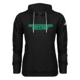 Adidas Climawarm Black Team Issue Hoodie-Wordmark
