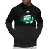 Adidas Black Team Issue Hoodie-Lions