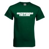 Dark Green T Shirt-Wordmark