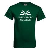 Dark Green T Shirt-Greensboro College