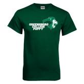 Dark Green T Shirt-Poppy