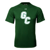 Under Armour Dark Green Tech Tee-GC